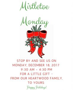 MISTLETOE MONDAY_