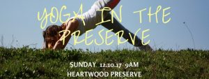 Yoga in the preserve